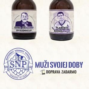Slovensky narodny pivovar - Muzi svojej doby